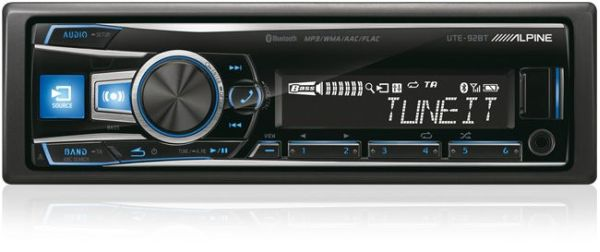 autoradio MP3 alpine